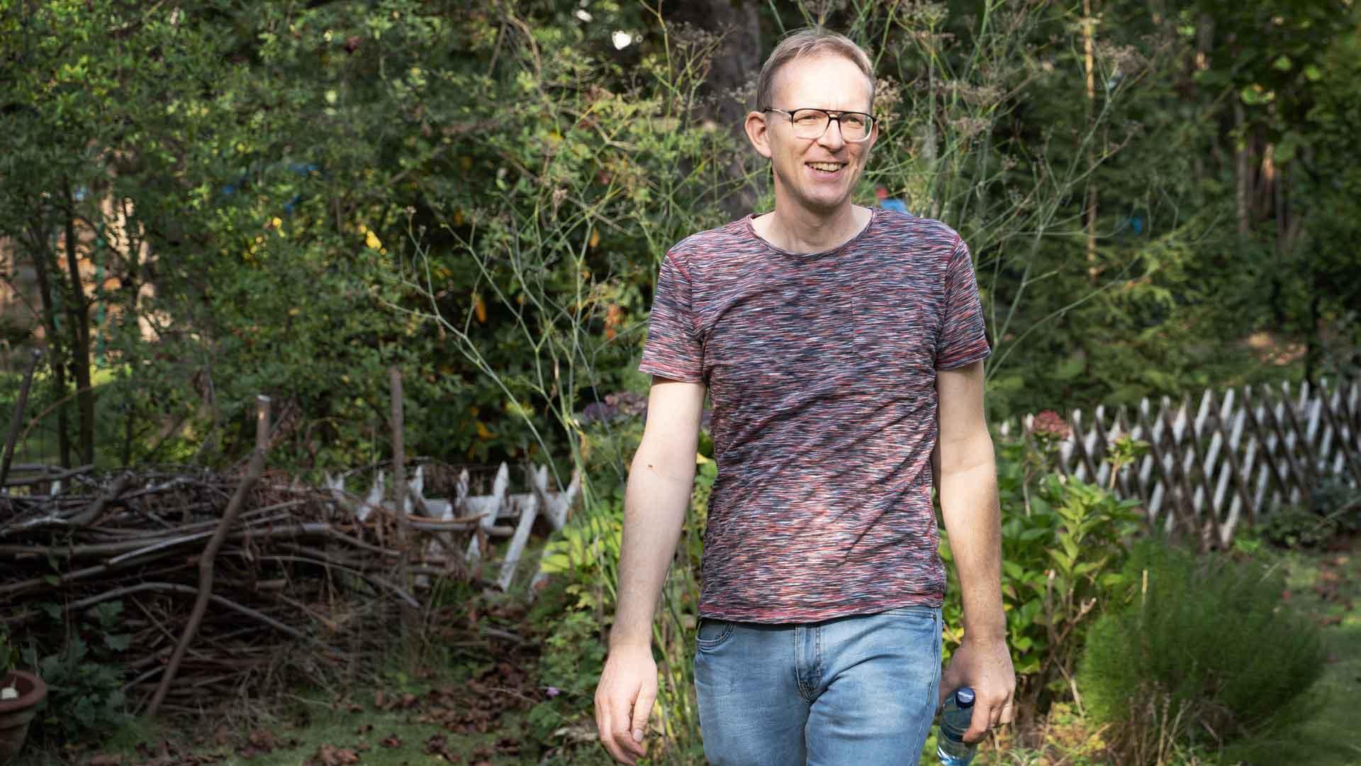 Holger Adams beim Balkon der freien Künste 2020