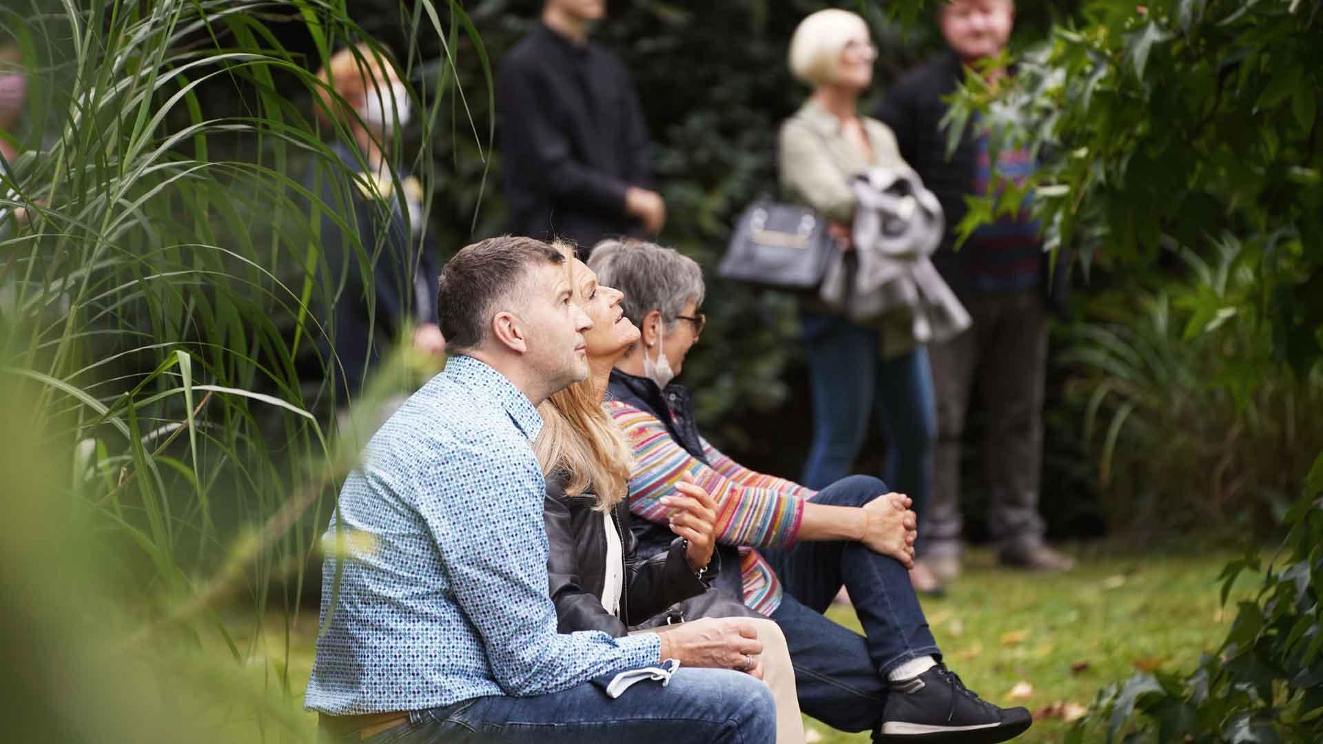 Gäste beim Balkon der freien Künste 2020