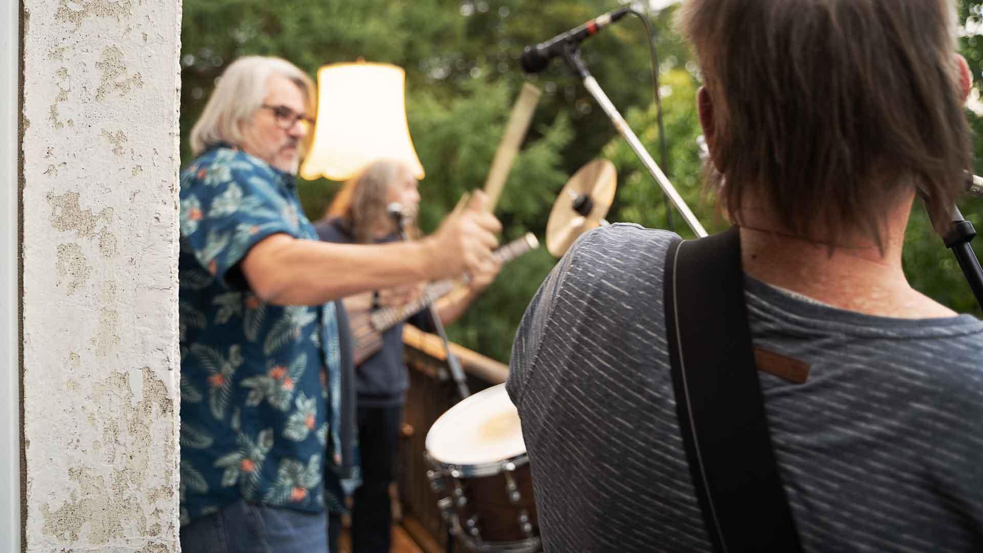 De Utschuss rockt beim Balkon der freien Künste 2020