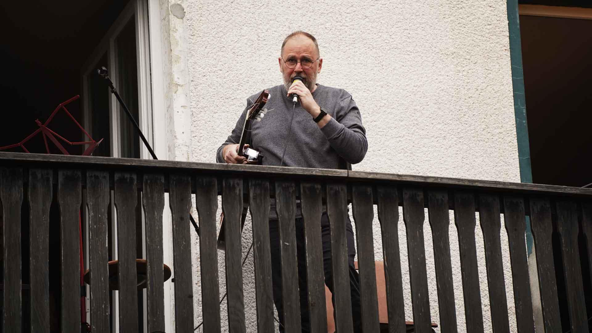 Flamenco mit Willi Grote beim Balkon der freien Künste 2020