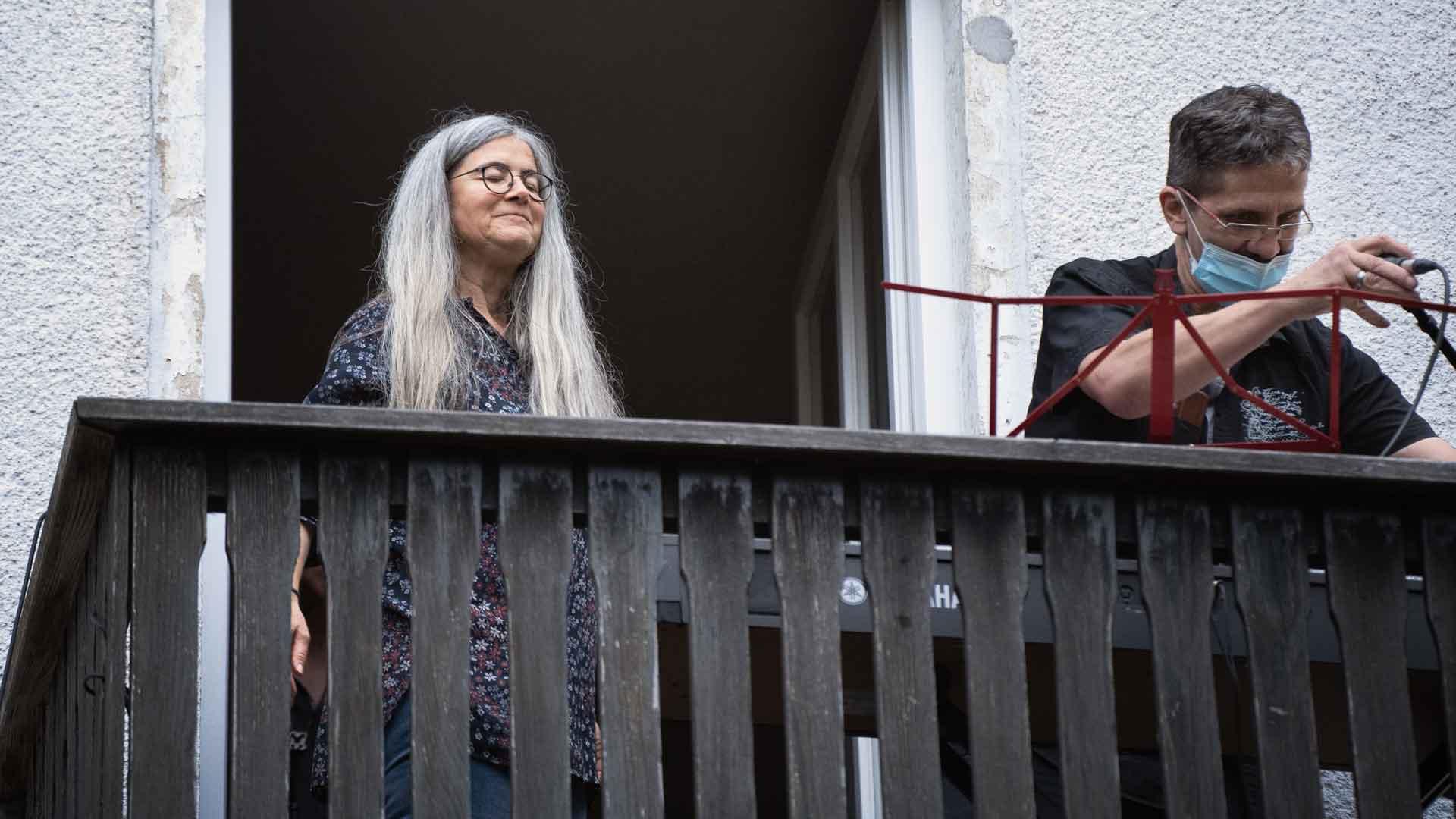 Susanne Spitzmüller beim Balkon der freien Künste 2020